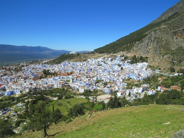 Chefchaouen Hill View