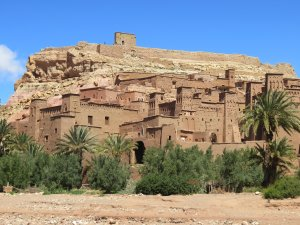 Outside Ait Benhaddou