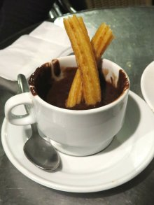 Chocolate Churro Spain