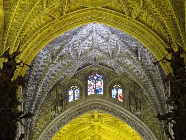 Inside Sevilla Cathedral