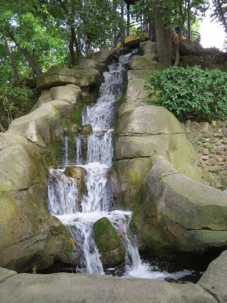 Maria Luisa Park Waterfall