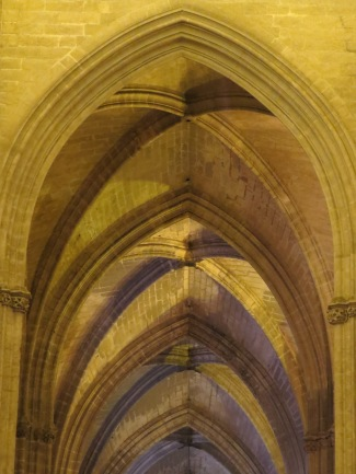 Sevilla Cathedral Arches