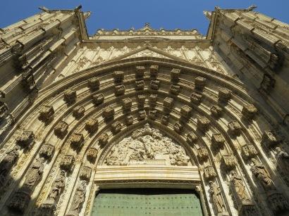Sevilla Cathedral Door
