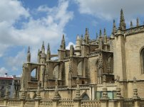 Sevilla Cathedral Spires