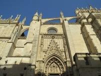 Sevilla Cathedral Wall