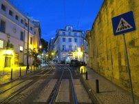 Lisbon Street Night