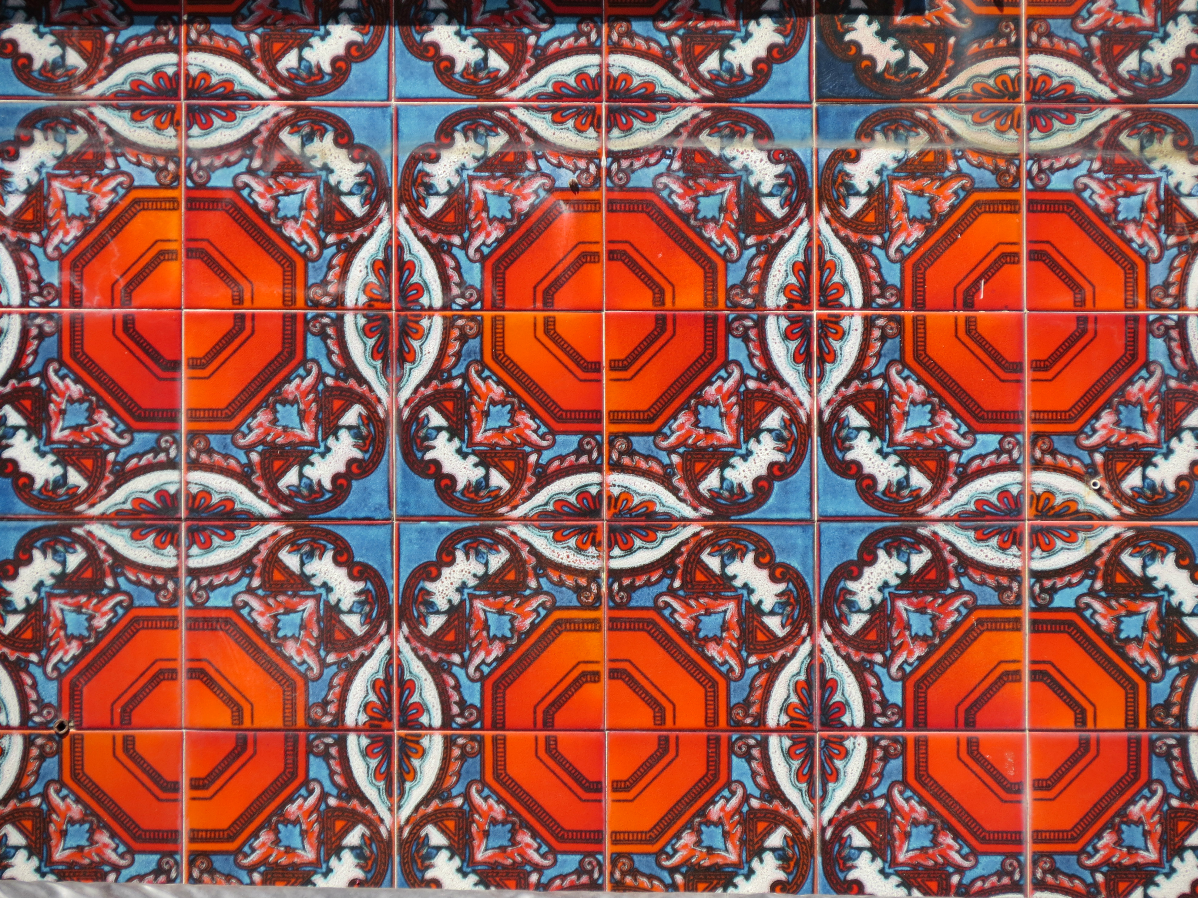 Colorful tiles in lisbon hoboish ceramic tiles called azulejos are a key feature of lisbons architecture a walk down any street will reveal colorful and detailed tilework on buildings doublecrazyfo Choice Image