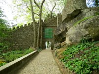 Moorish Castle Sintra Entrance