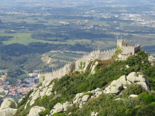 Moorish Castle Sintra View