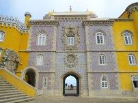 Pena Palace Sintra Wall 2
