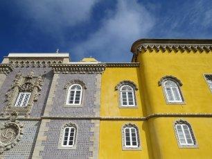 Pena Palace Sintra Wall