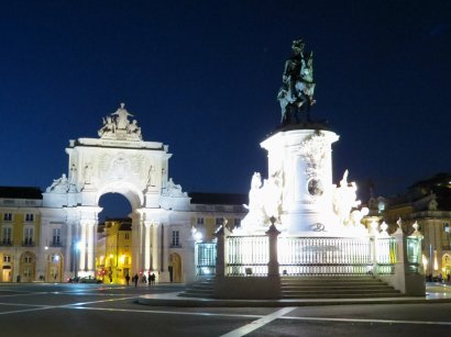 Praca do Comercio Night
