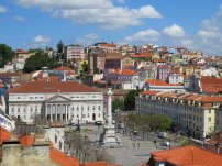 Rossio Square View