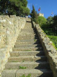Sao Jorge Castle Stairs